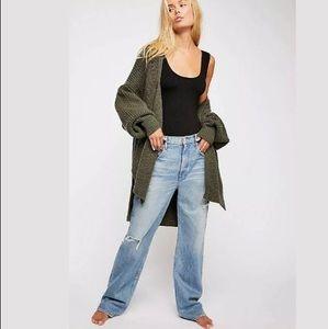 Free People 3x1 Addie Loose Fit Boyfriend Jeans 26
